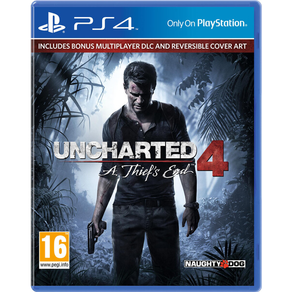 Uncharted 4 A Thief's End (PS4) -CD81570