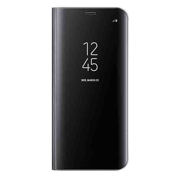 Samsung Galaxy S8 Clear View Standing Cover Black (EF-ZG950CBEGWW)