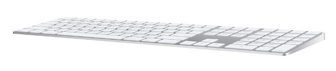 Apple Magic Keyboard with Numeric Keypad - Arabic - Silver (MQ052AB/A)