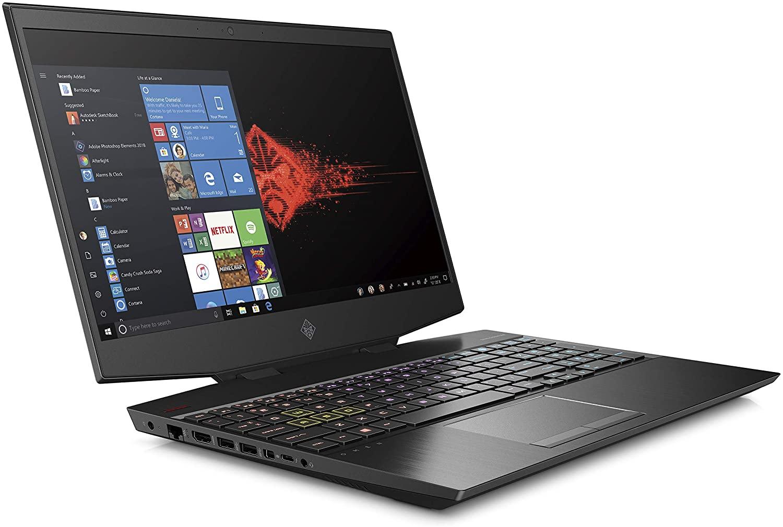 OMEN Laptop 15-dh0021ne Processor Intel® Core™ i7-9750H, RAM 16 GB, 6 GB NVIDIA GeForce GTX 1660 Ti Graphics, Screen Size 15.6, Memory 1 TB SSD, Black