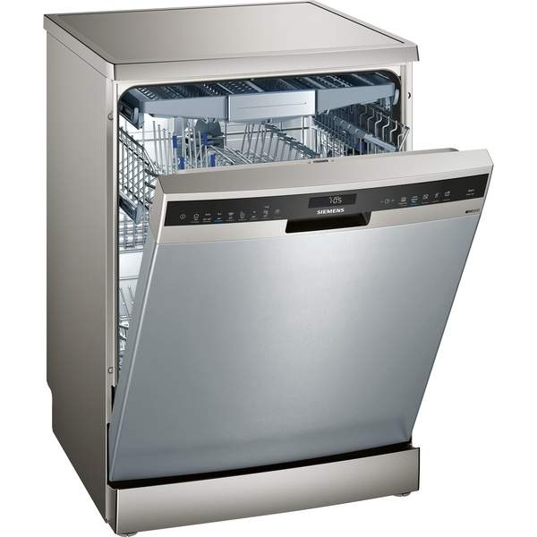 Siemens Freestanding Dishwasher, 13 Place Settings, Silver (SN258I10TM)