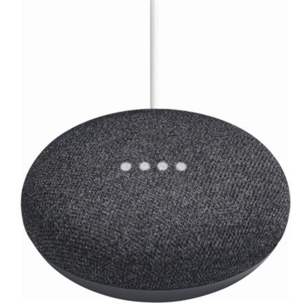 Google Home Mini Wireless Voice Activated Speaker - Charcoal (GHMINI-BLK-EC)