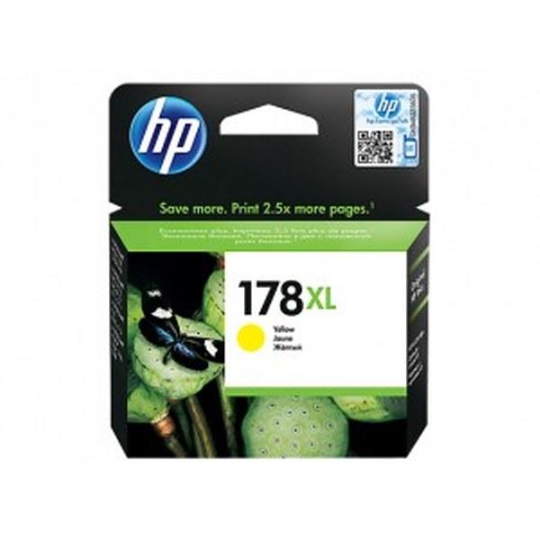 HP 933XL High Yield Yellow Original Ink Cartridge (CN056AE)