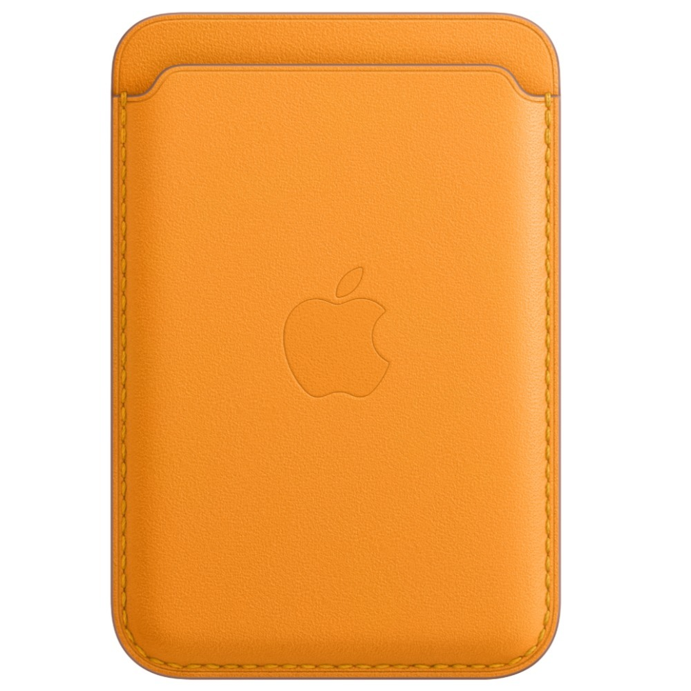 iPhone Leather Wallet with MagSafe  California Poppy MHLP3ZE/A (Delivery will be done in 2-3 weeks)