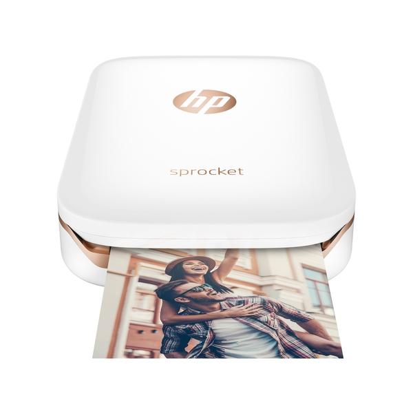 HP Sprocket Photo Printer - White (Z3Z91A)