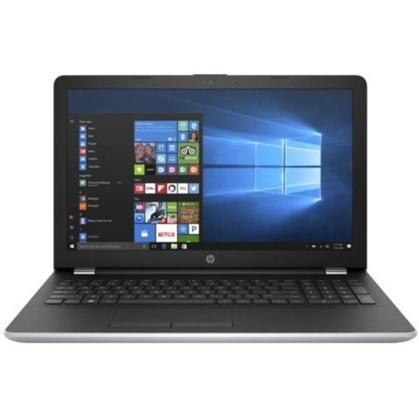 HP Notebook, 15.6 Inch WLED-backlit, Intel Core i3-6006, 1TB, 4GB, 2GB VGA, Win 10 15 inch - Silver (15-BS004)