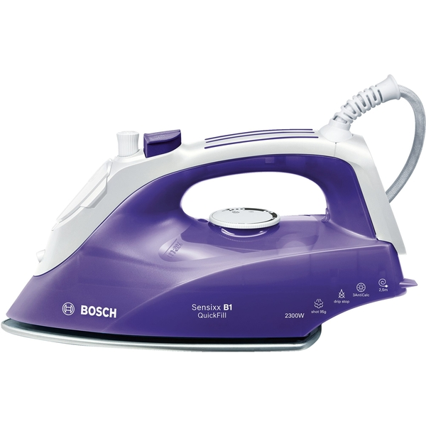 Bosch Steam Iron, Purple (TDA2651GB)