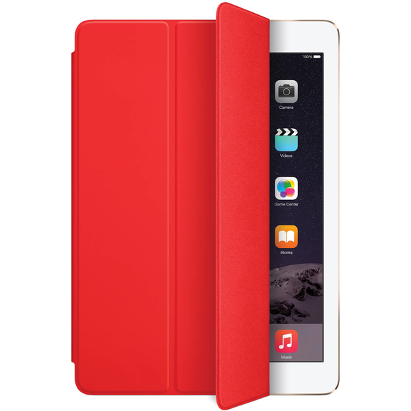 APPLE SMART COVER / FOR IPAD AIR, POLYURETHANE -RED (MGTP2ZM/A)