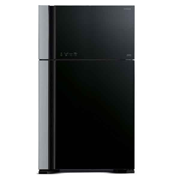 Hitachi 910ltr Super Big Glass Refrigerator, Glass Black (RVG910PUK5GBK)