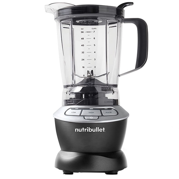 Nutribullet 5-Piece Blender/Mixer System 1000W, Dark Grey (NBF-0510B)