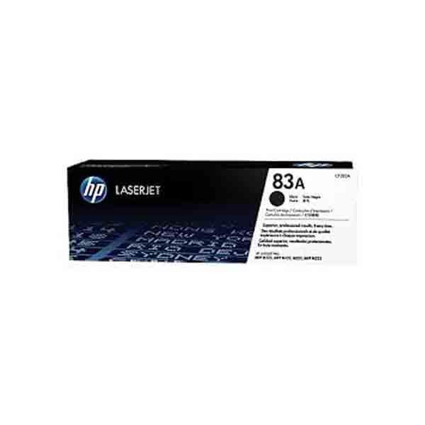 HP 83A Black Original LaserJet Toner Cartridge CF283A