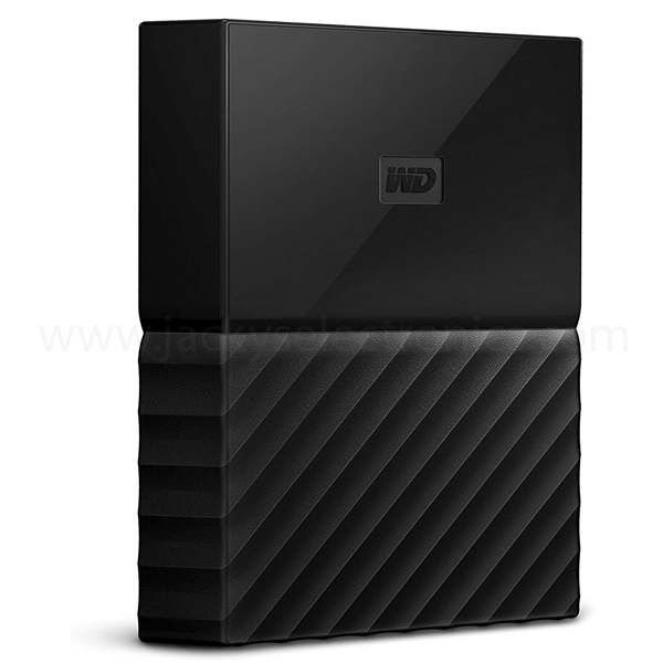 Western Digital My Passport 1TB Portable Hard Drive for Mac, Black (WDBFKF0010BBK-WESE)