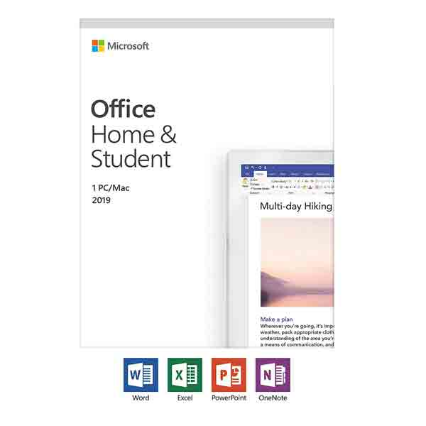 Office Home and Student 2019 English ME 79G-05035-LS
