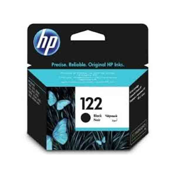 HP 122 Ink Cartridge -, Black(CH561HK)