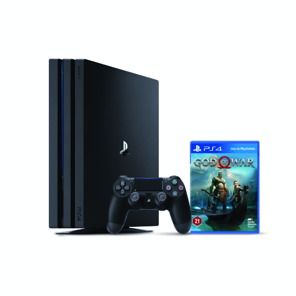 Sony PS4 1TB Gaming Console- God Of War (PS4/1TB-GOW)