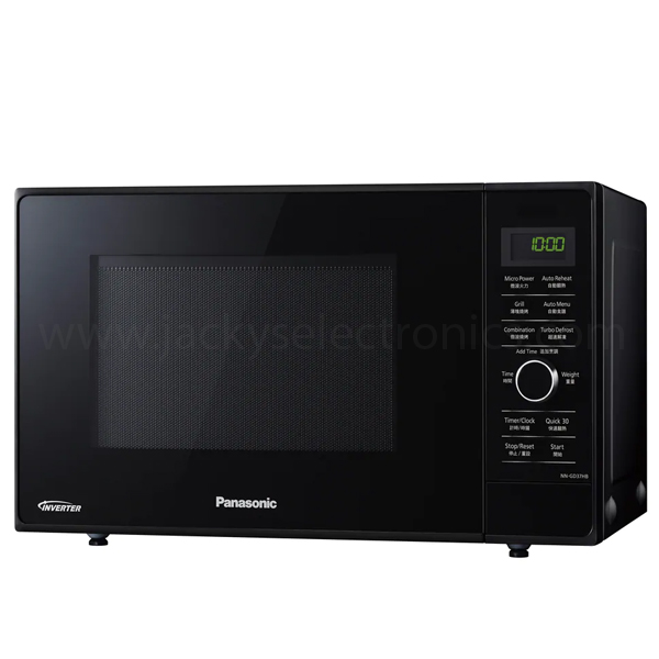 Panasonic 23 L Compact Grill Combination Oven , Dual Cooking for Fast and Crispy Cuisine, 1000 W, Quick 30 Function, Eco & Bright Lamp , Inverter Technology (NNGD37H)