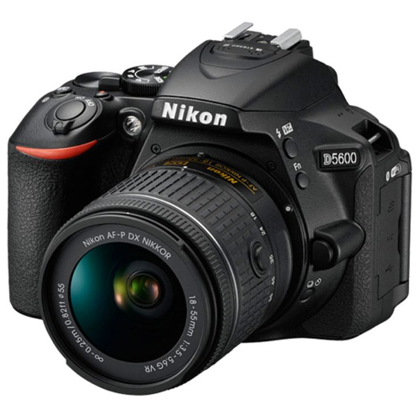 Nikon D5600 DSLR Camera 18-55MM VR - Black (D5600BK)