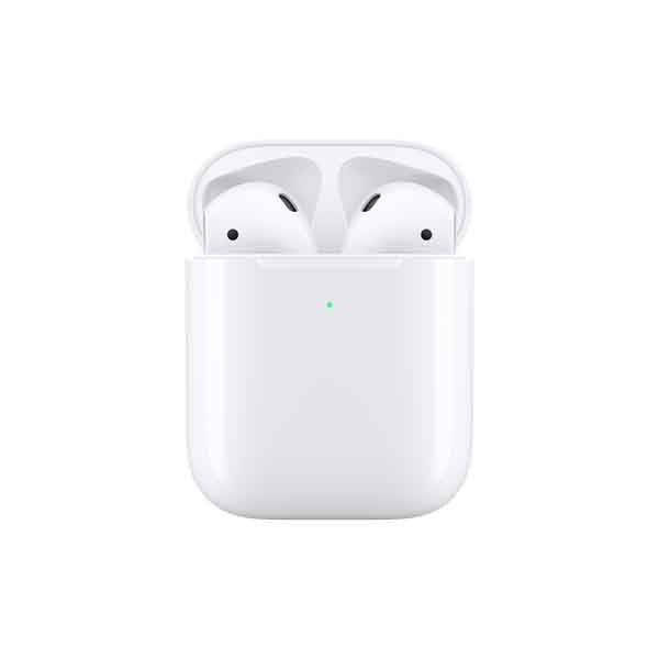 Apple AirPods 2019 With Wireless Charging Case White (MRXJ2-EC)