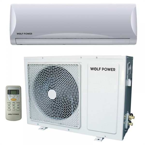 Wolf Power 2.5 Ton Split Air Conditioner with Rotary Compressor, White (WSAC30RCH)