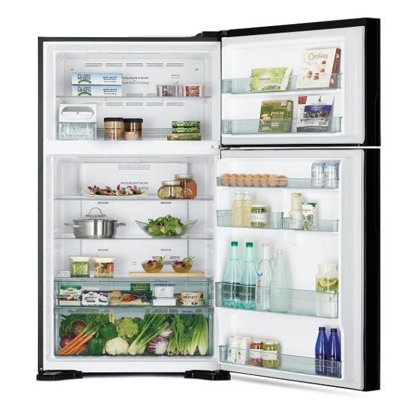 Hitachi Top Mount Refrigerator 760 Litres (RVG760PUK7KGBK)