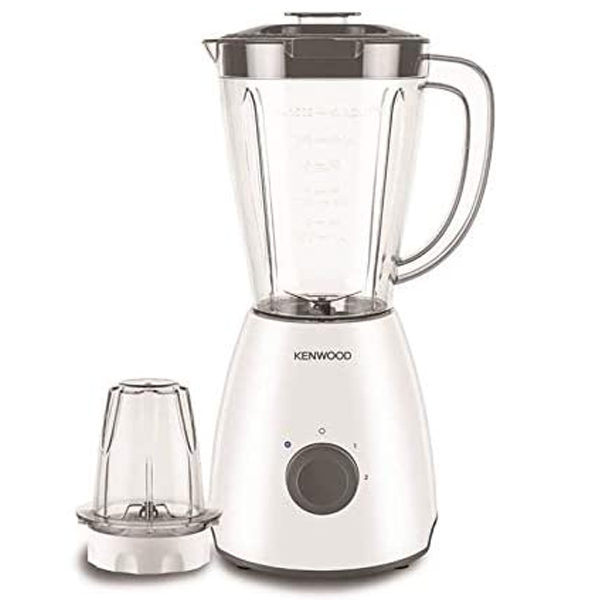 Kenwood Blender 400 Watts with Mill, White, 2.0 Litre, BLP10.A0WH