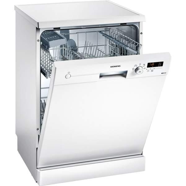 Siemens Freestanding Dishwasher, 12 Place Settings, White (SN215W10BM)