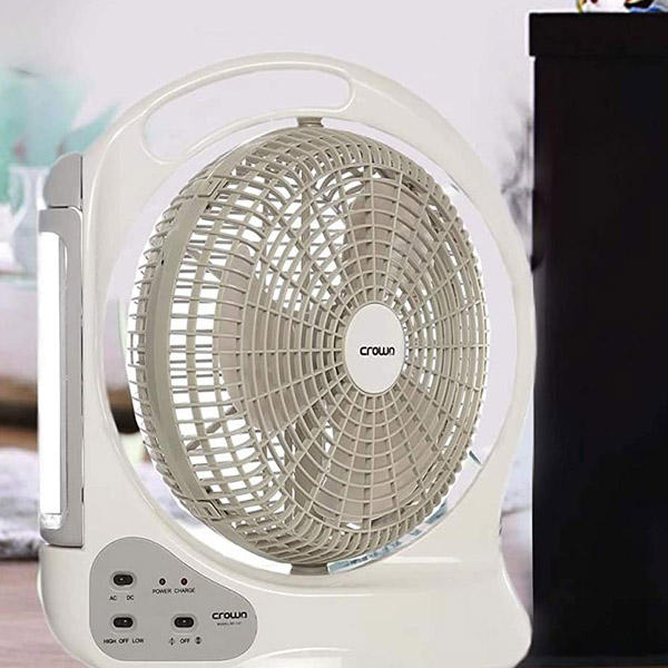Crown Line Rechargeable Fan (RF-137)
