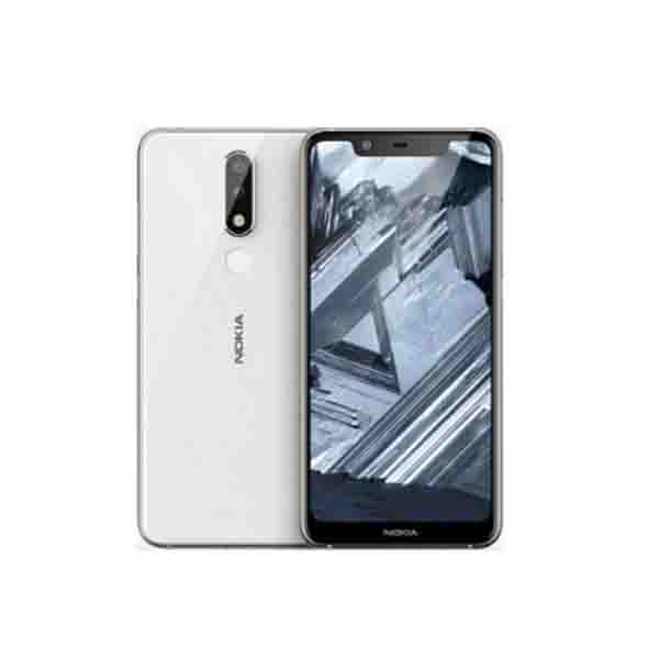NOKIA MOBILE PHONE / NOKIA 5.1+ TA-1105 DS WHITE 11PDAWW1A02 NOKIA5-1PLUS-32GBWH