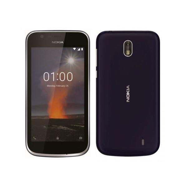 Nokia 1 TA-1056 Dual SIM - 8GB, 1GB RAM, 4G LTE, Dark Blue (NOKIA1W-BL)