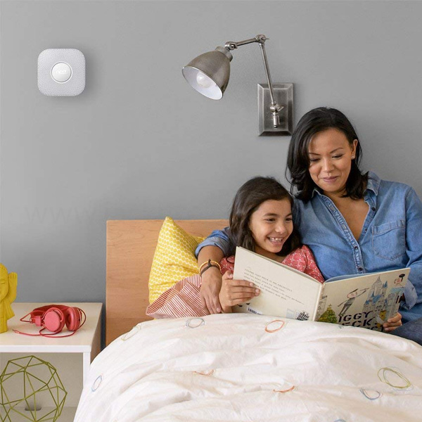 NEST PROTECT 2ND GEN SMOKE/CARBON MONOXIDE BATTERY ALARM S3000BWES-WHITE (NEST-S3000BWES)