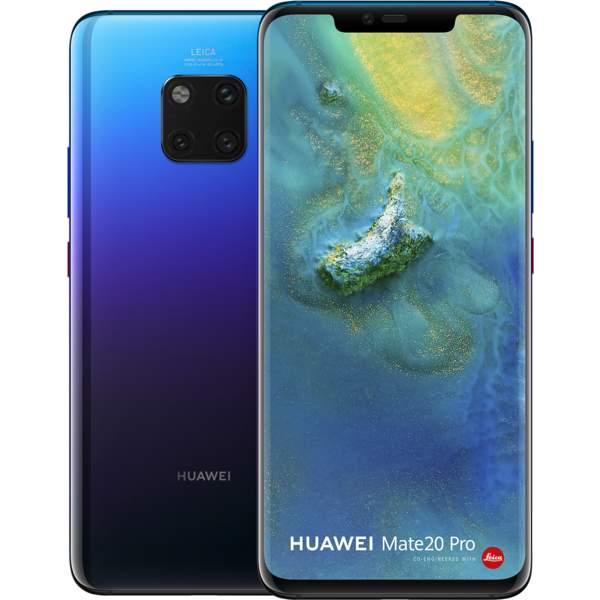 Huawei Mate 20 Pro 128GB Smartphone, Twilight (MATE20PRO-128GBTW)