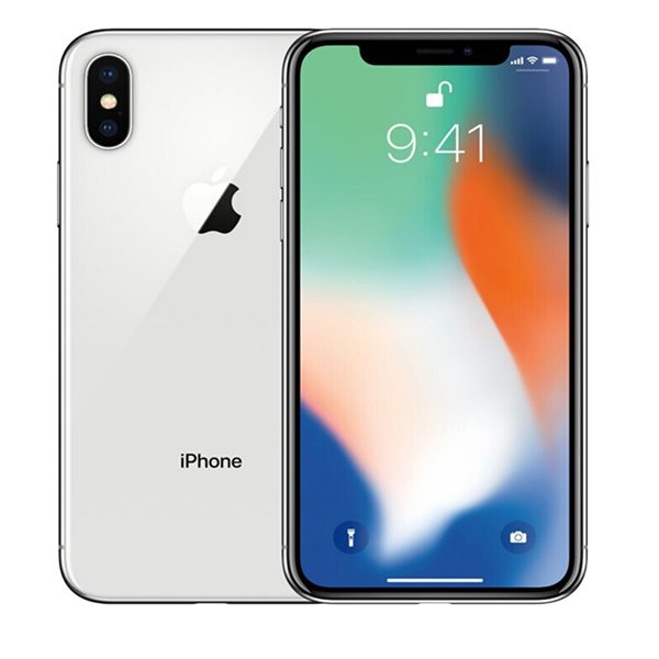 Apple iPhone X 256GB Silver (IPX-256SL-EC)