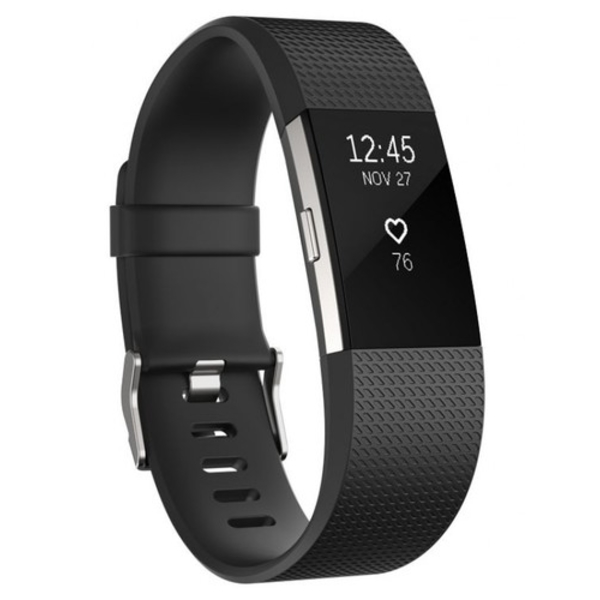 Fitbit Fitness Charge 2 wristband (FB407SBKL-EU)