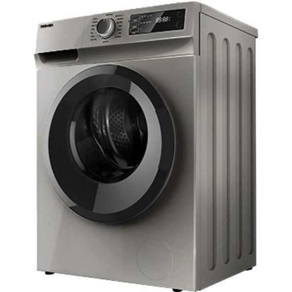 Toshiba 8 Kg 1200 RPM 16 Programs Front Load Washing Machine , White - TW-H90S2A-SK