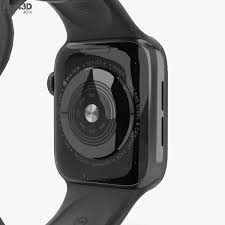 Apple Watch Series 4 (MU6D2-EC) GPS With Sport Band Space Gray Aluminum Case With Black Sport Band 44 millimeter
