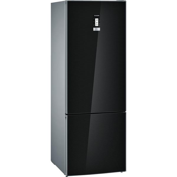 Siemens iQ500 noFrost, Bottom freezer Door Color Black, 505 Ltrs Gross Capacity (KG56NLB30M)