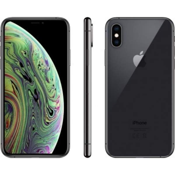 Apple iPhone Xs 512GB Smartphone, Space Grey (MT9L2AE/A-EC)