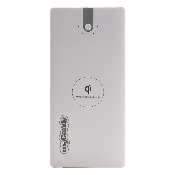 My Candy Wireless Power Bank 8000mAh - White (ACMYCPB15WHT)