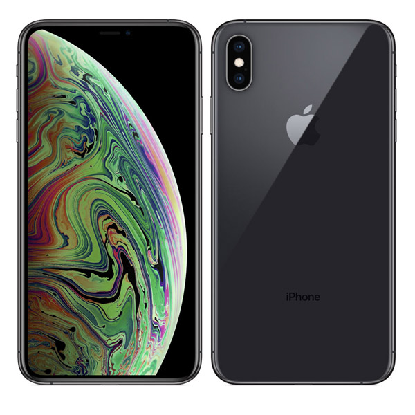 Apple iPhone Xs Max 512GB Smartphone, Space Grey (MT562AE/A)