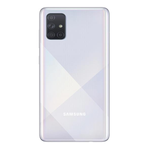 """Samsung Galaxy A71 6.7"""", Dual Sim, 4G LTE, 8GB, 128GB Smartphone Silver (SMA715F-8GBSL)"""