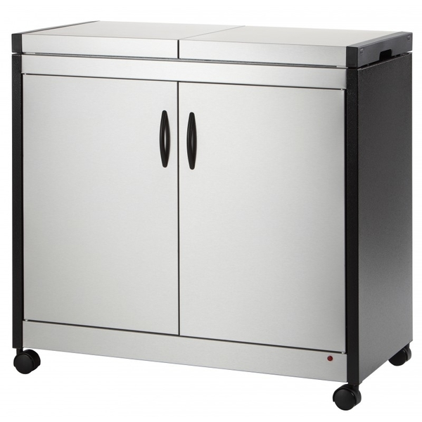 Hostess Brushed Stainless Connossieur Trolley (HL6232BS)