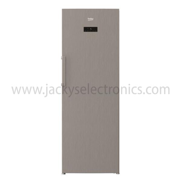 Beko 350 Liter Upright Freezer, No Frost, Glass Shelf (RFNE350E23PX)
