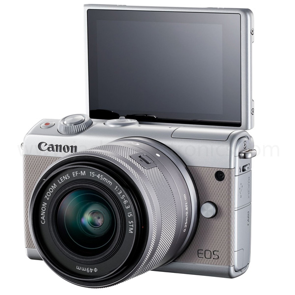 EOS M100 Grey EF-M15-45 IS STM (EOSM100GY)