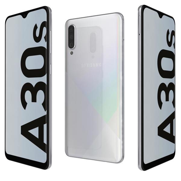 Samsung Galaxy A30s, 64GB, Ramen Octa Core 1.8GHz White (SMA307FW-W) Market Place