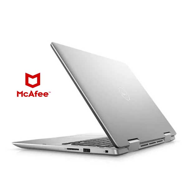 Dell Inspiron 5491 Convertible Touch Laptop – Corei5-10210U 8GB 256GB Shared Win10 14inch FHD Silver (5491-INS-1320-SLR) + Pre loaded Mcafee