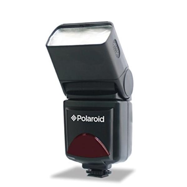 Polaroid PL126PZ Shoe Mount Flashgun for Olympus and Panasonic with Zoom (PL126PZ-N)