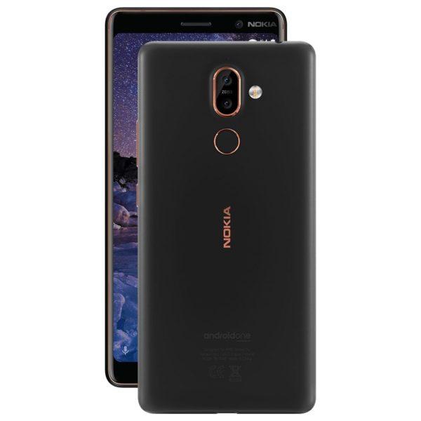Nokia 7 Plus Smartphone - Black (NOKIA7PLUSW-B)
