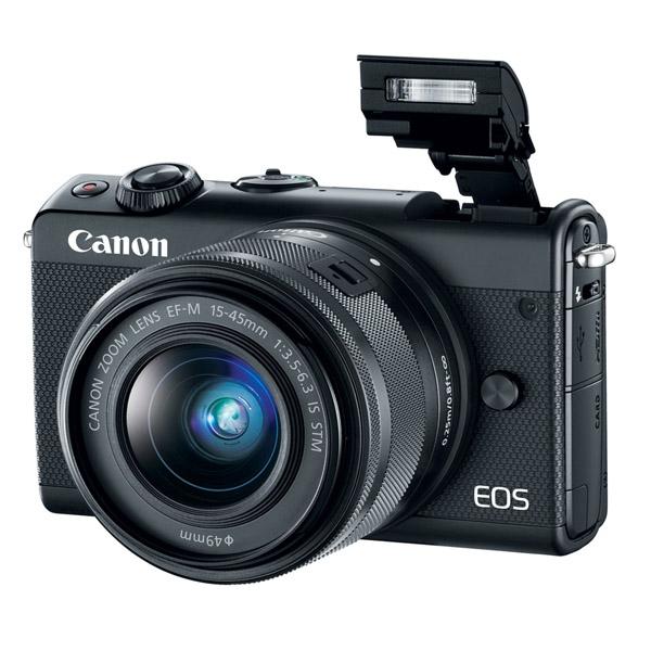 CANON EOSM100 Black EF-M15-45S (EOSM100-BK)