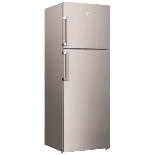 Beko 390 Liter Top Mount Refrigerator, No Frost, Dual Cooling Technology, Made in Turkey (RDNE350K21S)