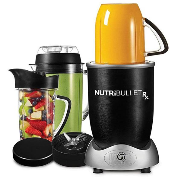 NutriBullet Rx Smoothie Maker 10pc Set, Black, 1700W, N17-1012